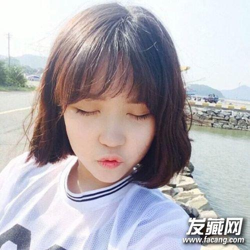 春季短发图片刘海大全女生秒变小a短发!最新发型女超图片时尚发型空气图片