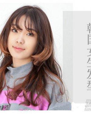 学韩国女生剪几款漂亮发型 韩国女生的发型
