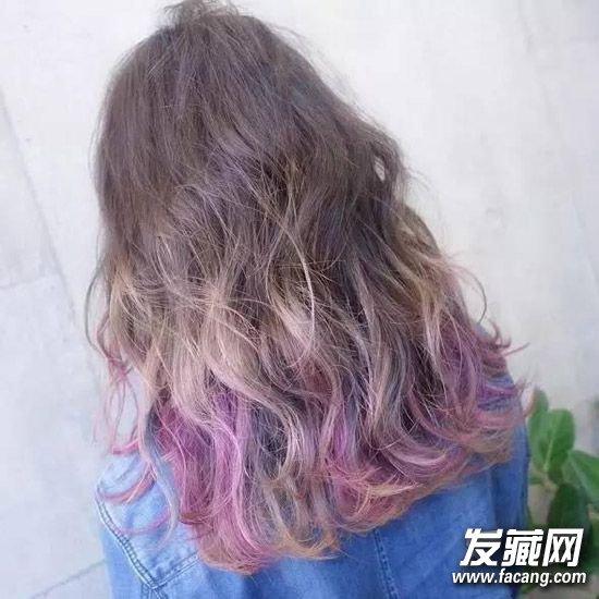 么颜色头发好看?图片