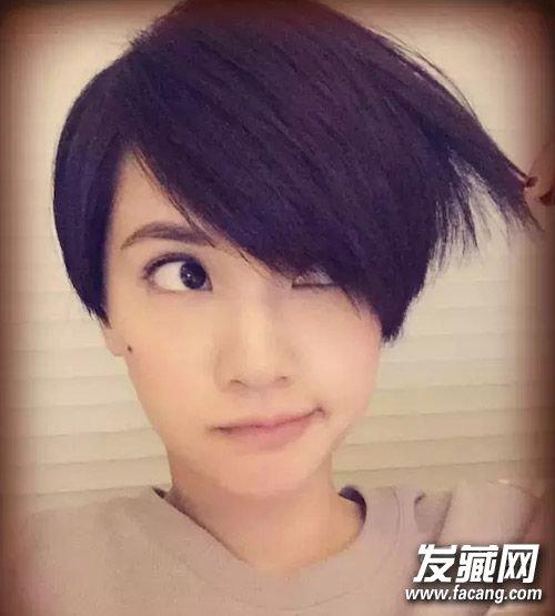 6招教你搞定过渡期发型 →短发妞看这里!图片