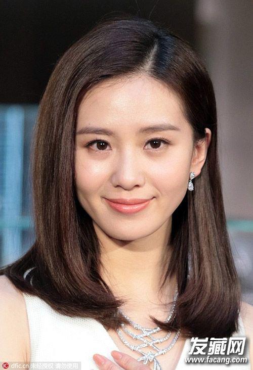 刘诗诗最新发型图片 美的不仅仅是新娘发型(4)
