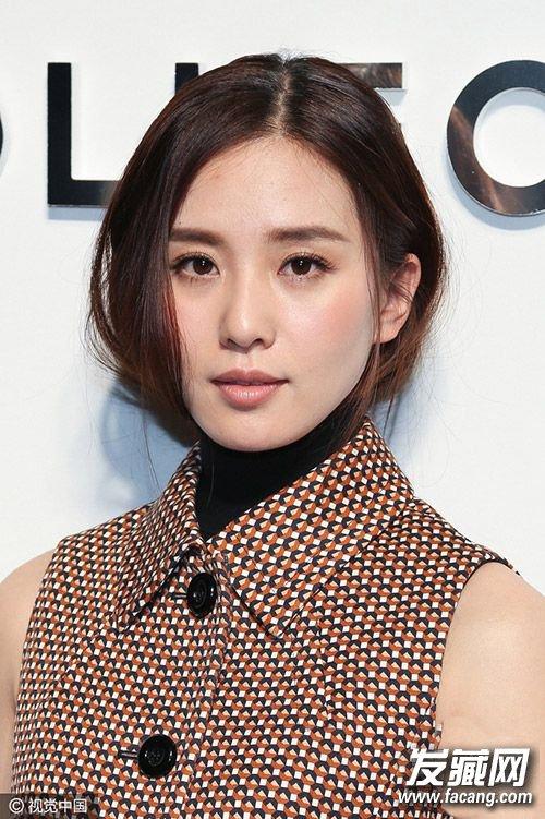 刘诗诗最新发型图片 美的不仅仅是新娘发型(5)