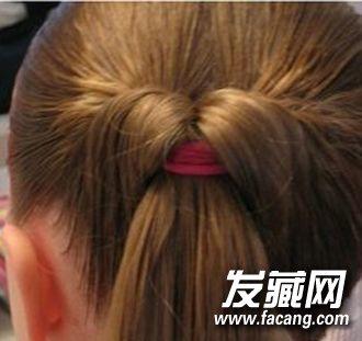 10岁以下小女孩适合的编发教程 真的太可爱了 小女孩发型绑扎方法