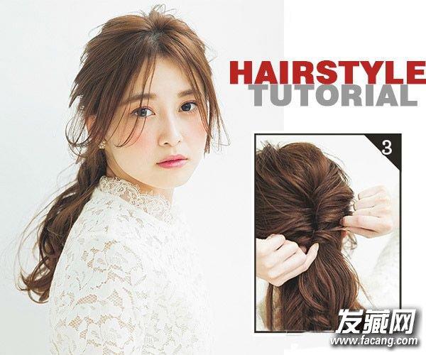 简单好看!扎头发最常用的2种简单方法(2)