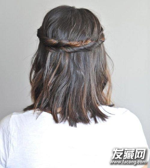 夏季短发变长发? 6招教你搞定过渡期发型(6)图片
