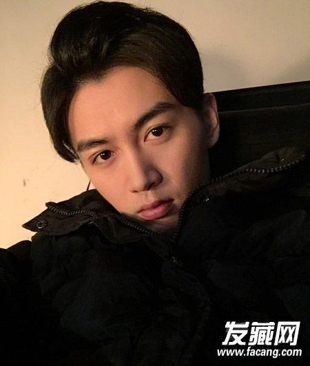 陈晓示范男生帅气发型图片(4)
