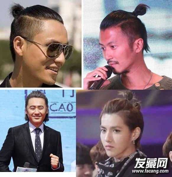吴亦凡夏有乔木发型照