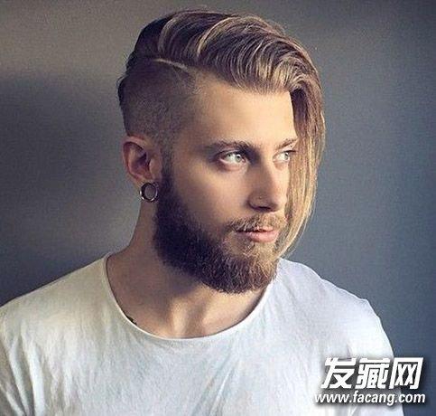 潮男必备undercut发型欣赏(3)