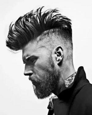成熟男士适合的发型 莫西干发型设计