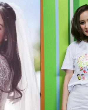 杨幂谢娜尹恩惠引领短发风潮,明星长发短发对比图图片图片