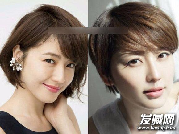 短发适合什么样的脸型 详细解析什么样的人最适合留短发?(6)