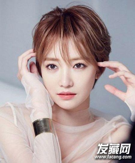 看准脸型找发型 菱形脸适合什么发型(4)图片