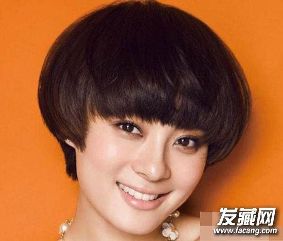 小波浪的短发造型 娘娘孙俪示范给你看(4)图片