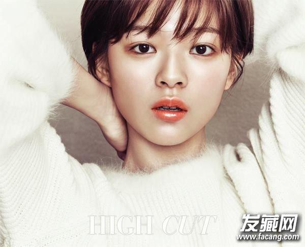 韩国明星小男孩短发发型