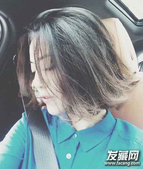 李溪芮海报短发造型 《翻译官》女二李溪芮发型图片(6)