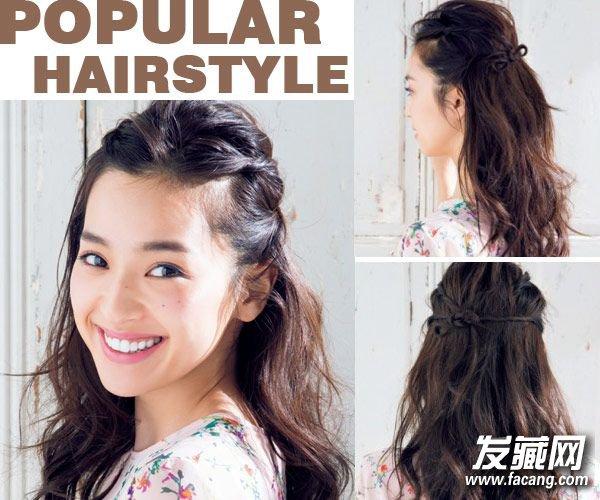 发型 > 公主头 马尾辫 夏季怎么扎头发好看(3)  导读:style 2 将前面图片