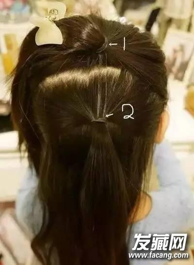 """""""六一""""小女孩发型绑扎方法 法式编发大人也能扎呢 六一儿童节女孩发型"""
