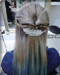变身造型感公主头 长发怎么扎公主头