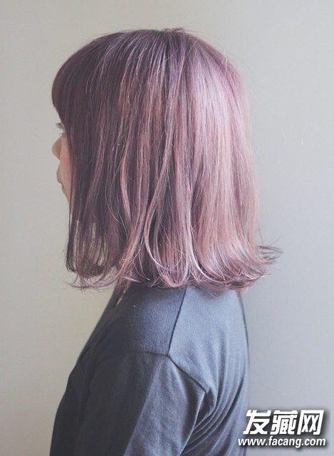 【图】2016夏季流行发色大公开 蓬松或是发尾微翘的短发极好看 6 染发颜色 发藏网