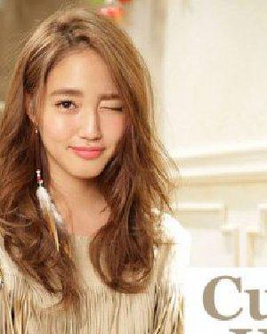 日韩风大卷发发型分享   大卷发型图片