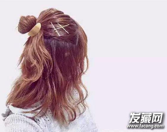 长发简单扎法发型 12款扎发up你的时尚指数图片