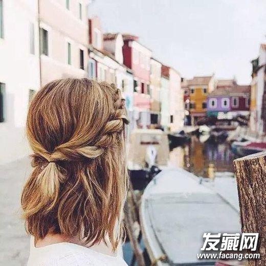 长发简单扎法发型 12款扎发up你的时尚指数(6)
