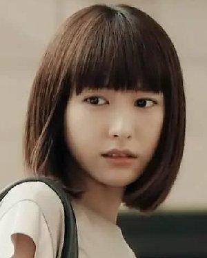 可爱减龄的圆脸 挑对刘海更时髦!