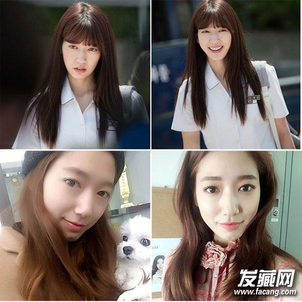 空气刘海又火了 跟着韩剧女主一起变发型 →可爱的萌妹子头刘海 齐