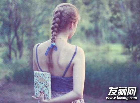 马尾辫包头4种可爱简约的发型
