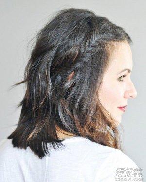 短发怎么扎简单好看 推荐7种清爽辫子发型