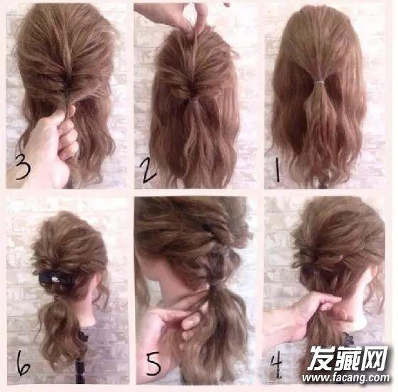 扎法图解 怎么扎辫子好看(2)  导读:发饰马尾2 第一步:先绑一个公主头