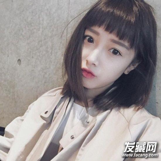 2016流行发型看这里!学韩妞轻松驾驭甜美风 2016流行发型女