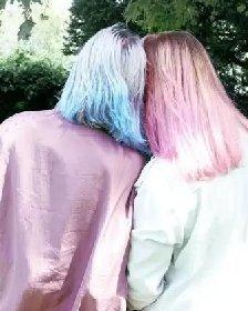 夏季给头发换新颜 最新流行的渐层染发