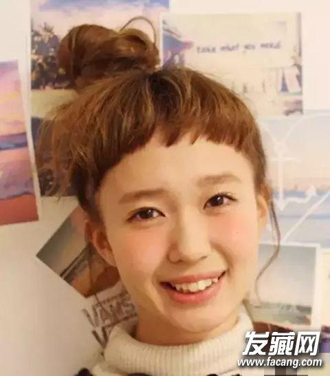 妹妹刘海 丸子头流行 二次元发型(2)