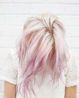 """现在流行什么发色 最新流行""""蜡笔色""""染发"""