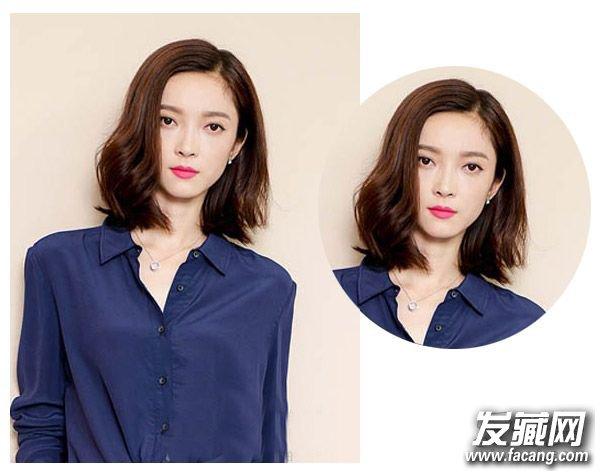 脸型发型 圆脸适合发型 > 圆脸什么发型好看 选不好发型也变大饼脸!