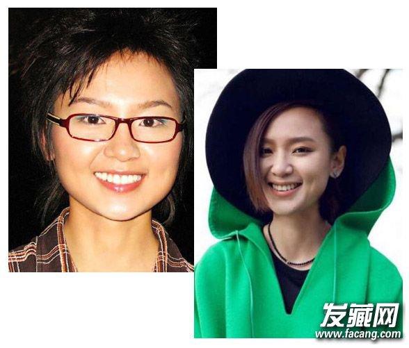 这些女星换发型才堪比换脸! 明星换发型前后(6)