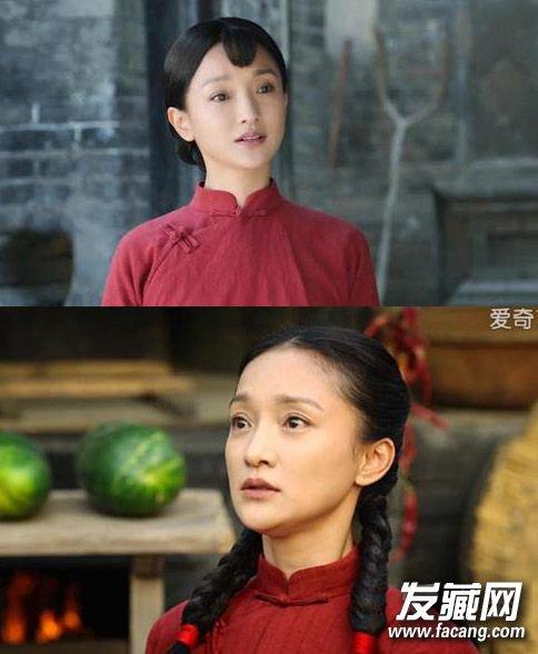 发型再嫩也掩不住老态 《秀丽江山》40岁林心如演少女(5)图片