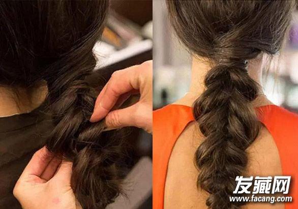 让你的麻花辫更有新意 麻花辫怎么编好看(4)