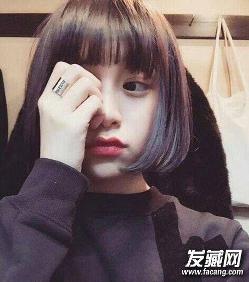 学生妹必备的可爱短发 10款就是这么萌萌哒(2)