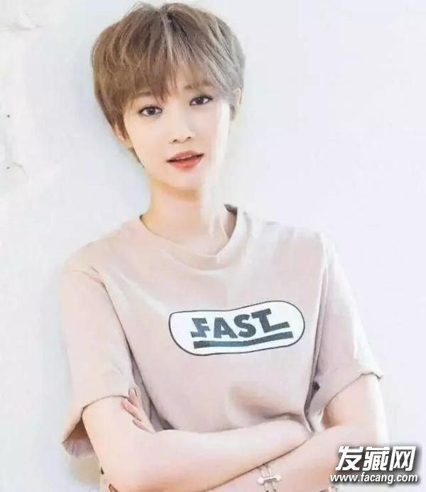 短发,空气刘海 夏天适合什么短发发型(2)图片