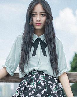 韩式水波纹烫发图,美得刚刚好!