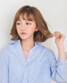 小脸必备的2016最时尚适合的烫发图片