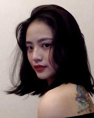 女生齐肩发型图片,慵懒造型主要看气质