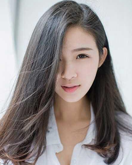 【长发丸子头扎法图解】_发型图片大全_发藏网