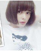 魅力齐刘海短发 有一种魅力叫齐
