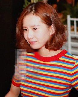 短发发型设计 杨幂刘诗诗的侧耳短发不光时髦还百搭