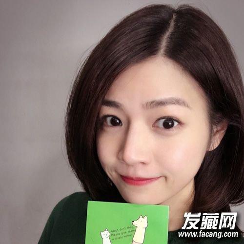 刘萌萌为什么用配�_【图】圆脸就学陈妍希妆容与发型搭配轻松拗出少女感_时尚发型