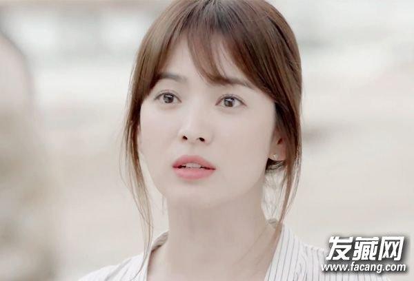 郑爽刘海图片 学刘涛郑爽这样打理更好看!(3)