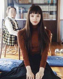可爱又减龄的齐刘海发型 女生中最常见的发型